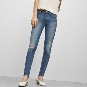 Aritzia The Castings Canton Mid Rise Skinny Jeans